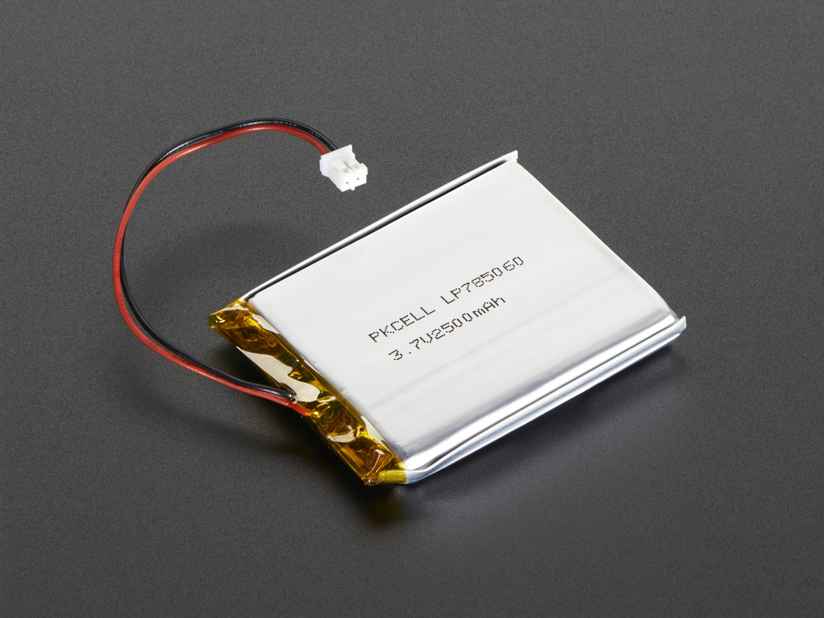 lithium ion polymer battery 2500 mah. Black Bedroom Furniture Sets. Home Design Ideas