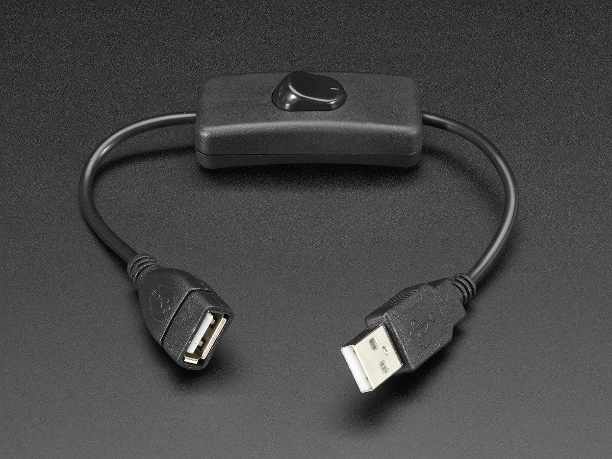 Usb Cable With On Off Switch For Power Control