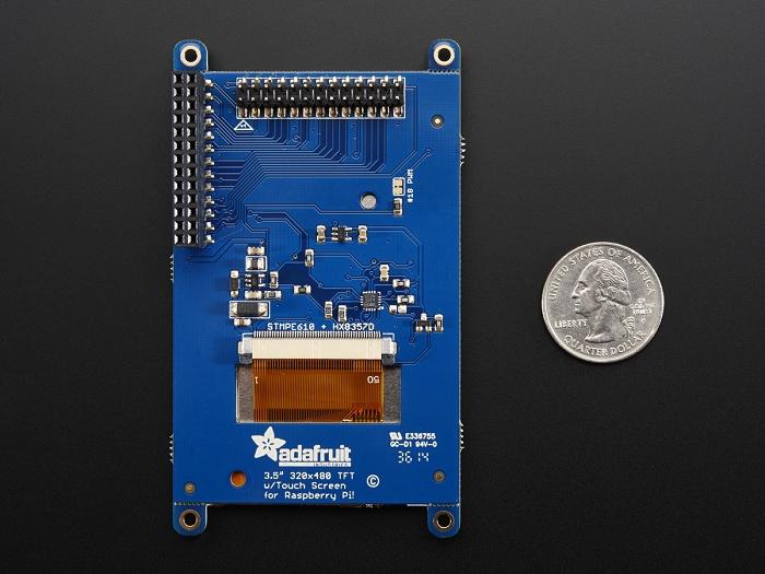 Adafruit Pitft Assembled 480x320 3 5 Quot Tft Touchscreen