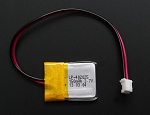 3.7v Lithium Ion Polymer Battery 150 mAh