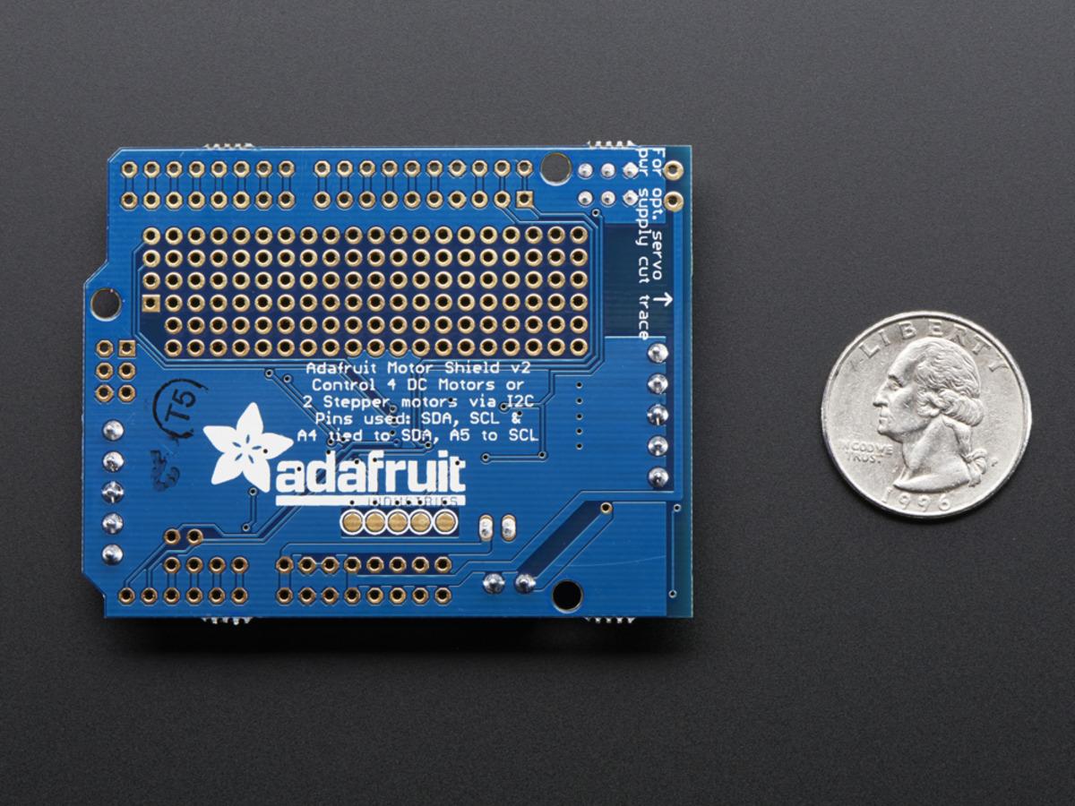 Adafruit Motor Stepper Servo Shield For Arduino V2 Kit V2 3