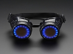 Adafruit Trinket-Powered RGB NeoPixel Costume Goggles DIY Kit