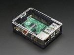 Adafruit Raspberry Pi 2B/B+ Case - Smoke/Clear