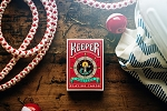 Keeper Playing Card Marked Deck - Red