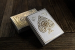 White Artisans Playing Cards