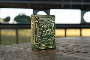 Monarchs Playing Cards - Green