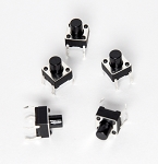 Tall Momentary Tactile Switch Button Pack - 20 Pack