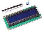 16x2 White Character Blue Backlight LCD HD44780 Based Display