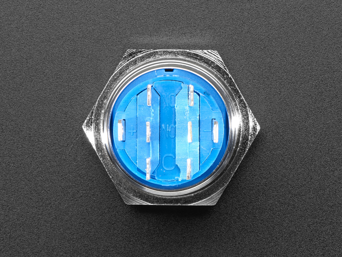 Rugged Metal Pushbutton 19mm 6v Rgb Latching On Off Pushbuttons Momentary And Switch In Blue White Quick View