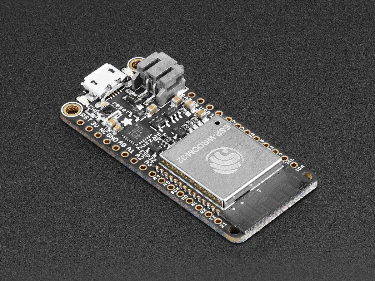 Adafruit HUZZAH32 – ESP32 WiFi and Bluetooth Feather Board