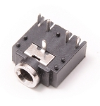5x 3.5mm Stereo Female Switched Socket