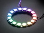Adafruit NeoPixel Ring 16 WS2812 5050 RGB LED Halo with Integrated Drivers