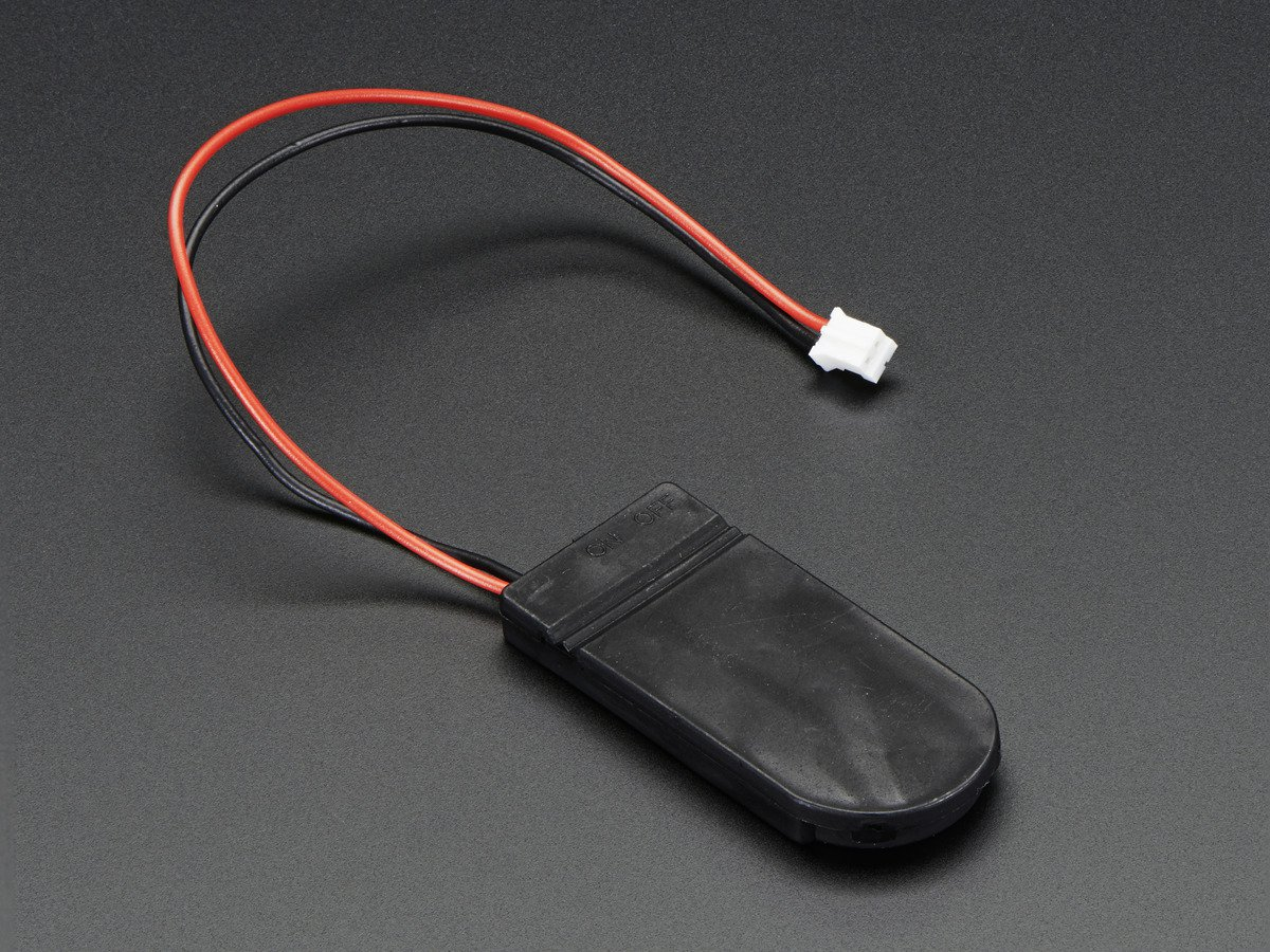6V Coin Cell Battery Holder with ON/OFF Switch 2 x 2032