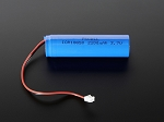 Lithium Ion Polymer 3.7v Cylindrical Rechargeable Battery - 2200mAh