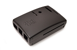 Raspberry Pi 2 Model B/B+ Enclosure in Black w/Integrated Camera Mount