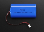 Lithium Ion Polymer 3.7v Cylindrical Rechargeable Battery - 4400mAh