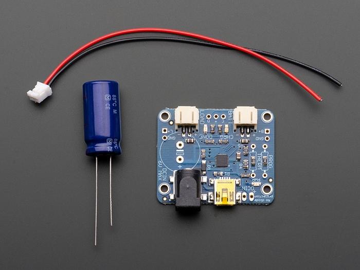 Adafruit USB / DC / Solar Lithium Ion/Polymer charger - v2