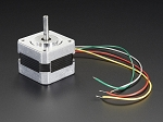 Stepper motor - NEMA 17 size - 200 steps/rev, 12V 350mA