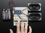Adafruit Audio FX Sound Board + 2x2W Amp - WAV/OGG Trigger - 2MB