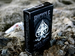 Bicycle Black Ghost Playing Cards w/ Rider Backs
