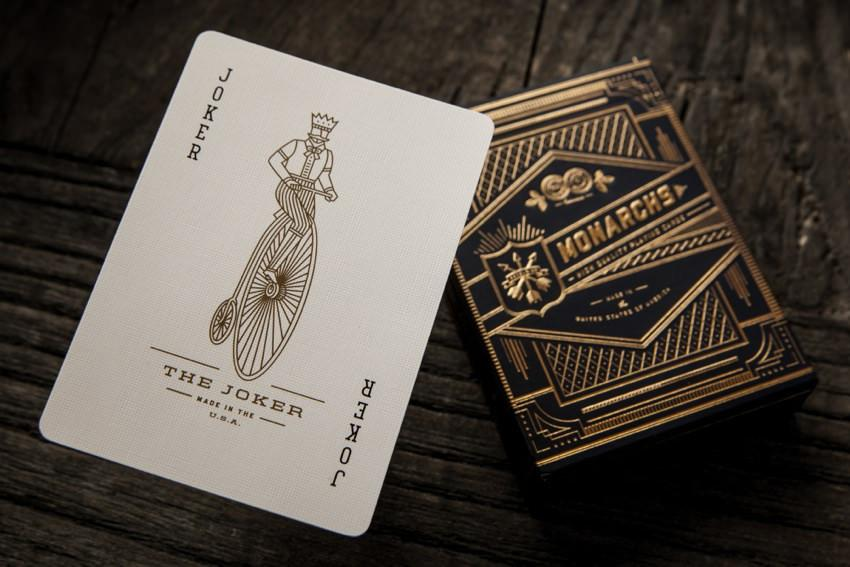 Monarchs Playing Cards Blue