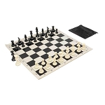 Basic Club Chess Set Combo - Black