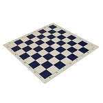Basic Vinyl Chess Board - Navy Blue