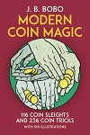 Modern Coin Magic Book - Bobo