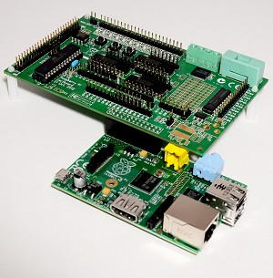 Assembled Gertboard GPIO Expansion Board For Raspberry Pi