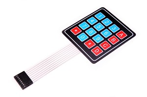4x4 16 button Membrane Keypad