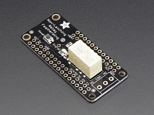 Adafruit Non-Latching Mini Relay FeatherWing
