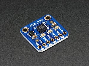Adafruit ADXL335 - 5V ready triple-axis accelerometer (+-3g analog out)