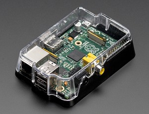 Adafruit Raspberry Pi Case for Model A or B - Injection Molded Enclosure