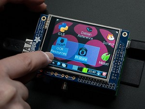 "Adafruit PiTFT 320x240 2.8"" TFT+Touchscreen LCD Display For Raspberry Pi"