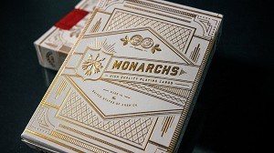 Monarchs Playing Cards - White